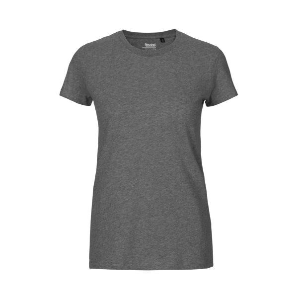 Neutral 81001 Ladies' Fit T-Shirt in Dark Heather