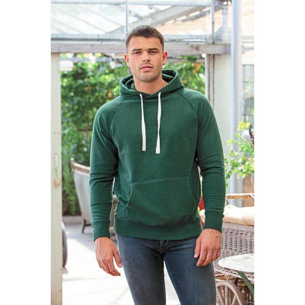 Mantis Men's Superstar Hoodie Herren in Forest Green - Model